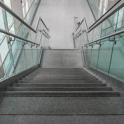Glass Rails - Architectural Meshes & Stainless Steel
