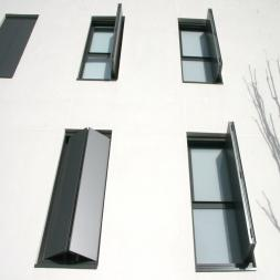 External Motorized Folding Shutters - Moving Facades