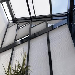 Exterior Wintergarden Solar Blinds