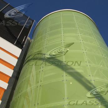 Architectural Curved Glass - Bent Safety Glass