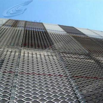 Metal cladding materials (perforated, embossed)