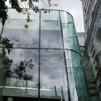 Hungarian Academy of Arts Structural Glass Atrium (Hungary)