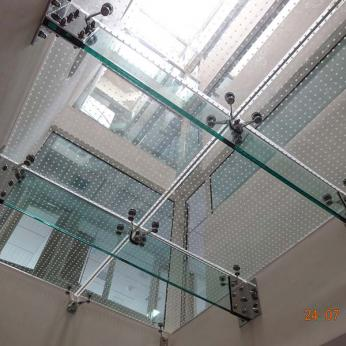 Glass Floor in a Law Office