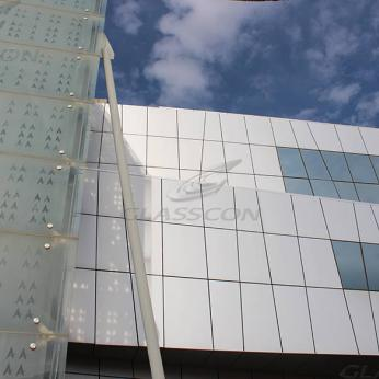 Curtain Walls & Double Skin Facade With Glass Frit