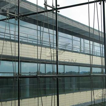 Ceramic Cladding - Spider Glass Curtain Wall Tension Rod (Romania)
