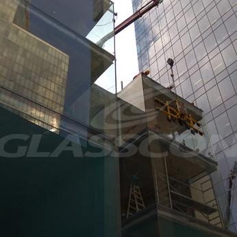 Glasscon custom oversized aluminium glass curtain wall 91