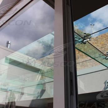 Structural Glass Roof with Glass Fins