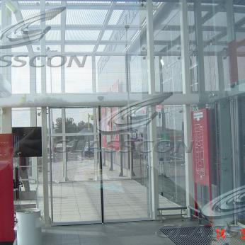 Bolted Glazing Curtain Wall on Steel Substructure