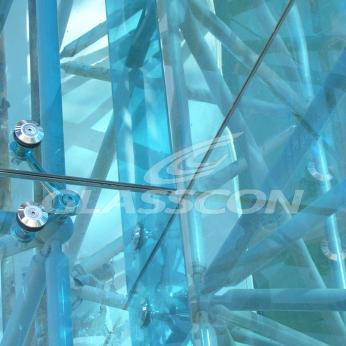 Spider Glass Curved Curtain Wall on MERO SPACE FRAME 3D TRUSS Glasscon 07.jpg