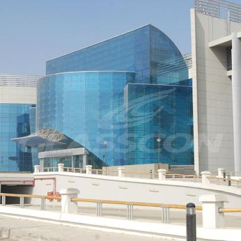 Spider Glass Curved Curtain Wall on MERO SPACE FRAME 3D TRUSS Glasscon 12.jpg