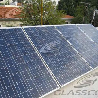 Photovoltaic System on a Private Villa.