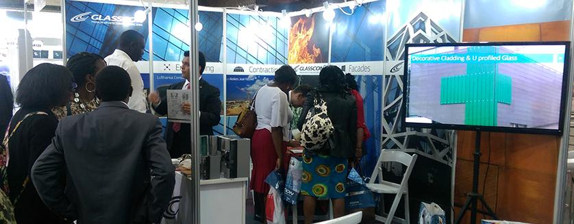 Success for GLASSCON at BIG 5 Construct East Africa 2016